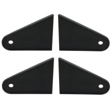 Bottom of Ural Side Car Mounting Brackets