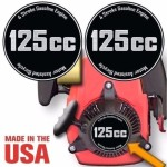 4 Stroke Motorized Bicycle Engine Decals Graphic Detail Kit Emblem-1