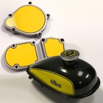 Motorized Bicycle Engine & Tank Decals-1
