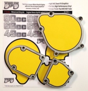Motorized Bicycle Engine & Tank Decals-12