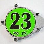 Motorized Bicycle Roundel Decals-2